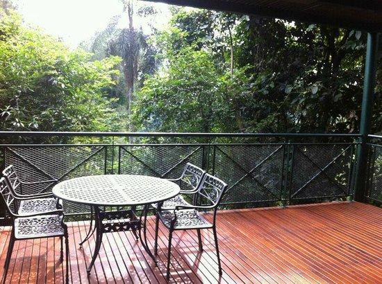 Iguazu Jungle Lodge: Balcon