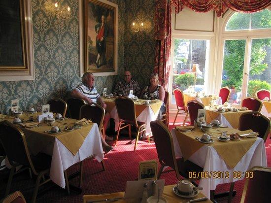 Annan Hotel: Breakfast