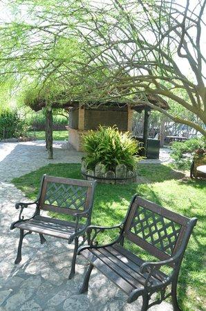 Delta Hotel: jardin