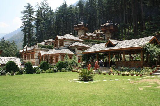 Kasol, India: The View of the Resort from the Lawns