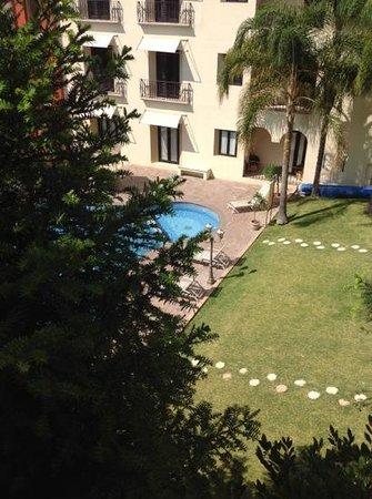 """Quinta Las Alondras Hotel: vista desde nuestra habitacion """"sencilla"""""""