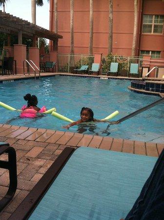 Residence Inn Fort Lauderdale SW/Miramar : pool area