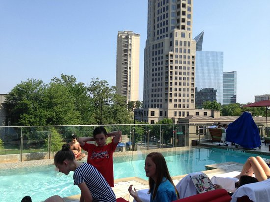 W Atlanta - Buckhead: View of Buckhead from pool