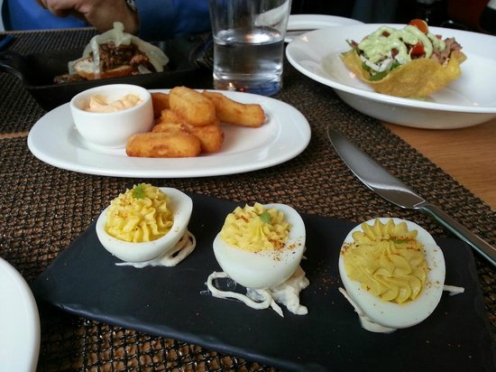 The Gardner Cafe : Eggs, Chick Pea Fries & Taco