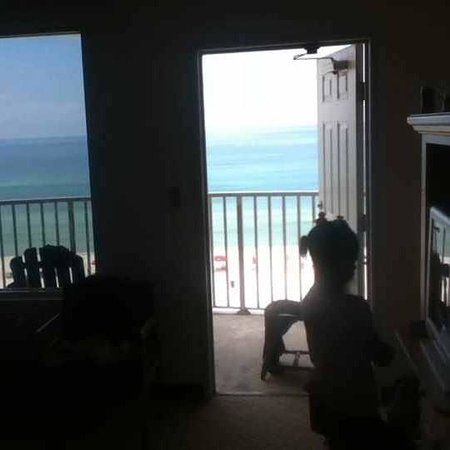 Holiday Terrace Motel: my room view