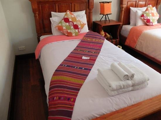 Phounsab Guesthouse: very clean comfortable beds