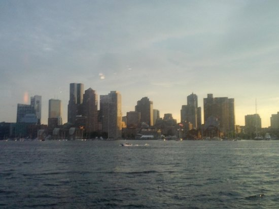 Odyssey Cruises : View from the ship