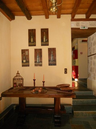 Boutique Hotel Kokkino Spiti: salle a manger
