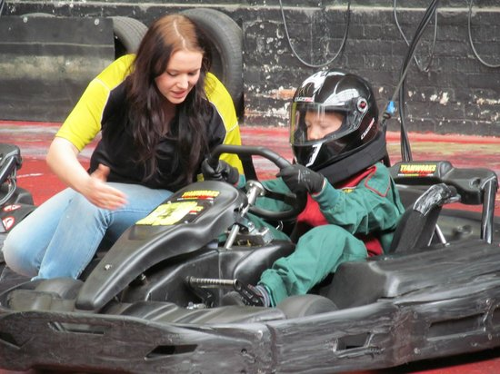 Teamworks Karting Letchworth: help and advise