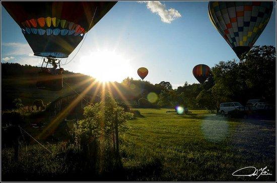 Balloons of Vermont - Private Flights : Morning Flight