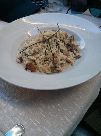 Jamm Ja: risotto with mushrooms