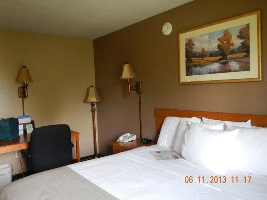 Baymont Inn & Suites - Jacksonville: bed was fine