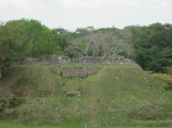 NCQ Belize Adventure Tours : altun ha, where it was blasted for road material