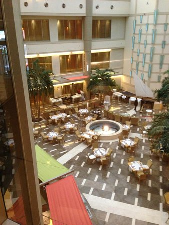 Marina Hotel: The breakfast room