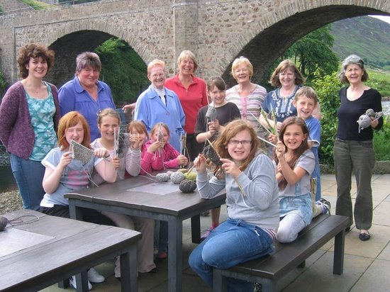 Timespan Museum and Arts Centre: Our fantastic, inter-generational knitting group