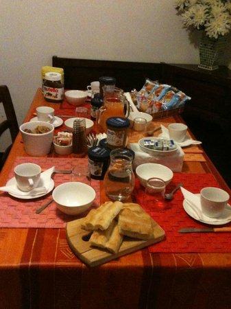 Bed & Breakfast Il Mago: La colazione