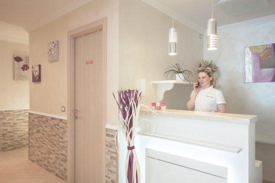 Rome Kings Suite: Reception sight