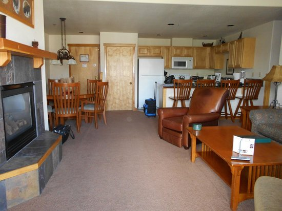 Grand Timber Lodge: Living Area