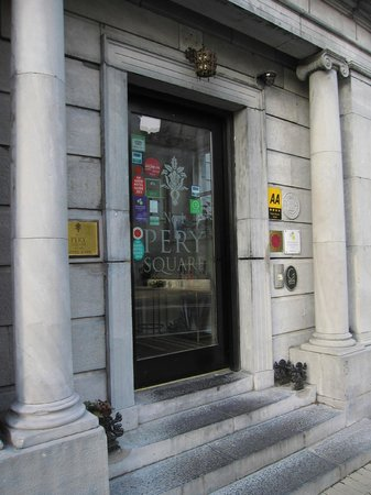 No. 1 Pery Square Hotel & Spa: Front entry 1