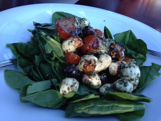 Crown Isle Resort & Golf Community: Spinach Salad at Timber Room