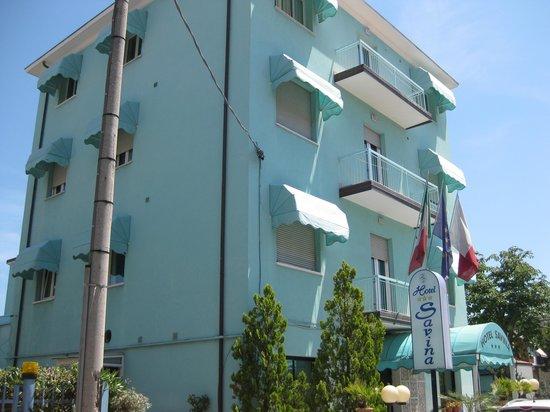 Hotel Savina: camere in ombra al pomeriggio