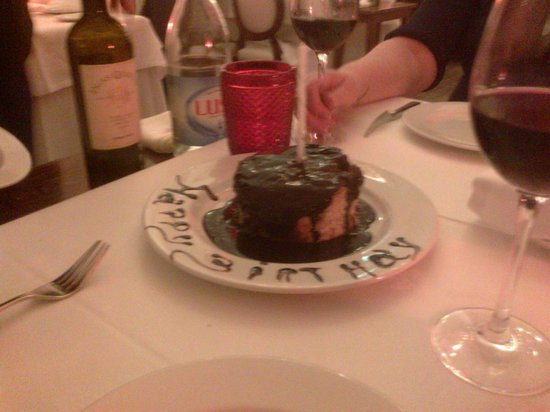 Casa Branca : Birthday cake