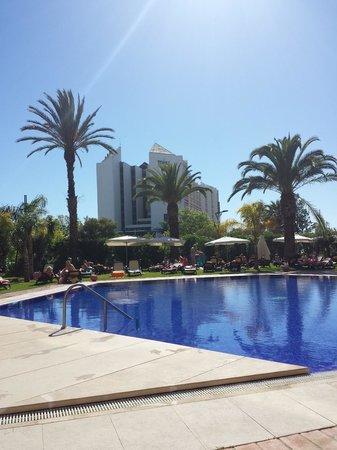 Dom Pedro Marina: The Pool Area