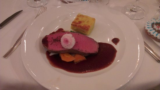 Brauereigasthof Hotel Aying : perfectly cooked