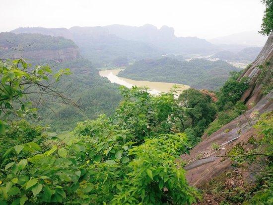 Shaoguan Danxia Mountain Geopark: Another view from Elder Peak