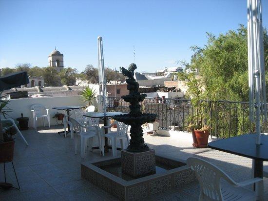 Mirador del Monasterio: The roof terrace