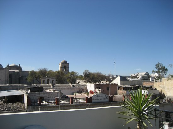 Mirador del Monasterio: View from the roof terrace