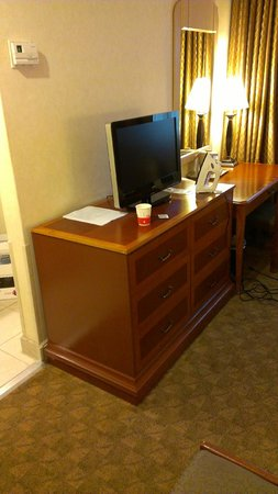 Ramada by Wyndham Los Angeles/Downtown West: small TV