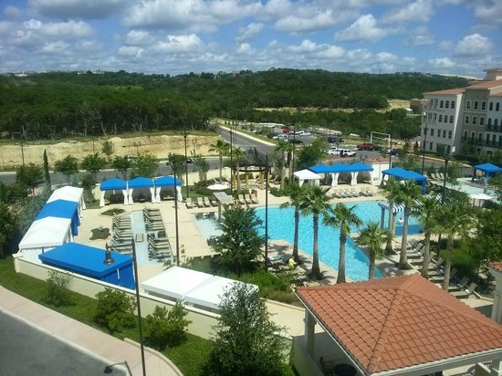 View from the room picture of eilan hotel spa for Texas spas and resorts