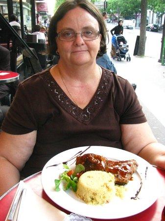 Madeleine : The rib dish - delicious!
