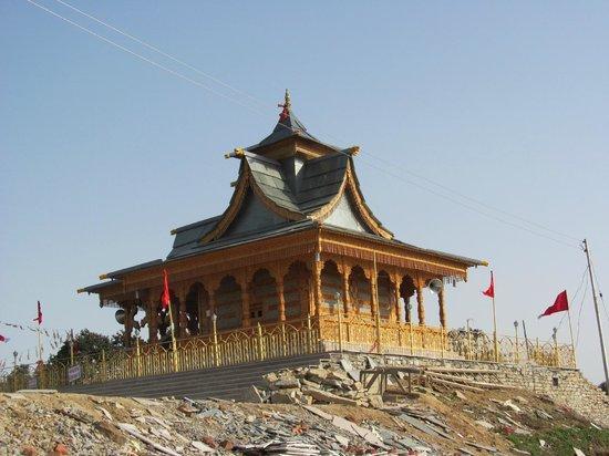 Narkanda, India: Temple