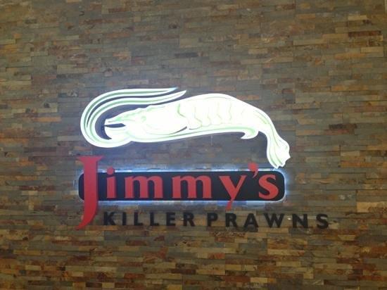Jimmy's Killer Prawns: logo