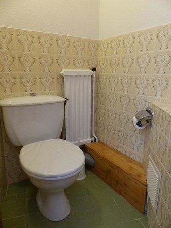 Logis La Cascade : WC de notre chambre