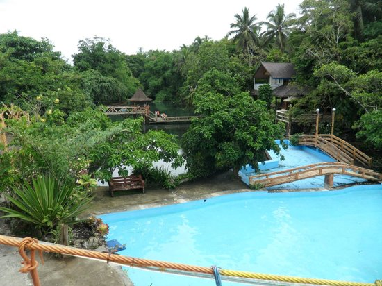 Lucban, Philippinen: The pool