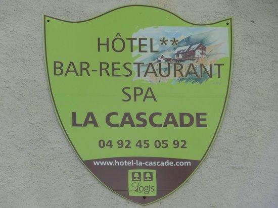 Logis La Cascade : Le logo