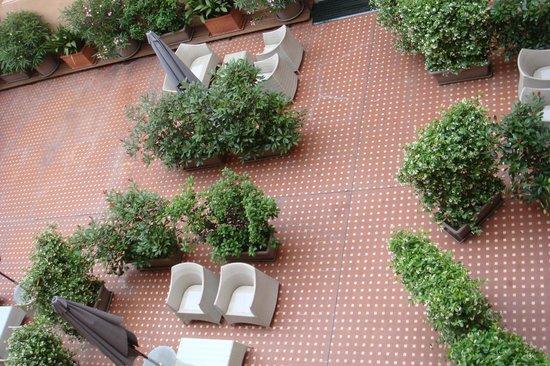 Accademia Hotel: Courtyard