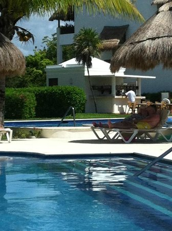 valentin imperial riviera maya our poollazy river bar
