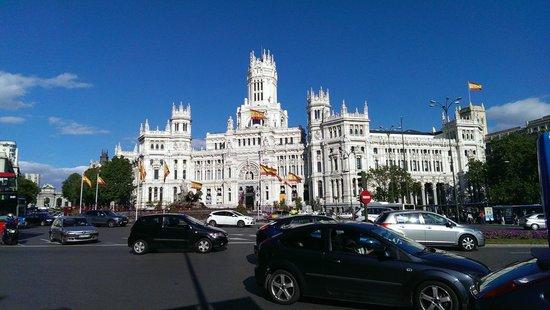 Correos picture of palacio de cibeles madrid tripadvisor for Edificio correos madrid