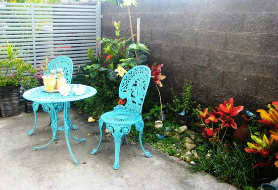 Coffs Jetty BnB: Private courtyard