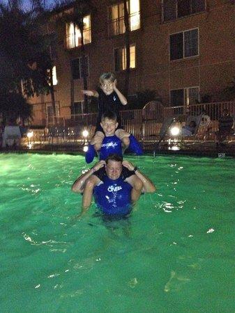 Fun in the pool - Picture of Hilton Garden Inn Carlsbad Beach ...