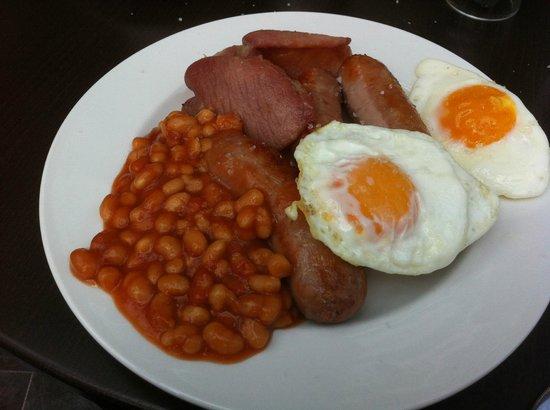 Waterloo Hotel: Breakfast