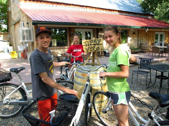 Rapid Creek Cycles and Paddleboards: Fabulous vineyard stop