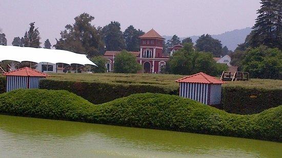Hacienda Panoaya: Vista desde el puente