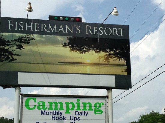 Town Creek, AL: Look for this sign on Highway 101!