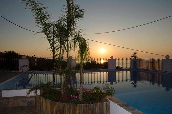 Esplanade Hotel Apartments: Los atardeceres