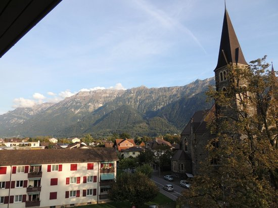 Hotel Interlaken: View from our room